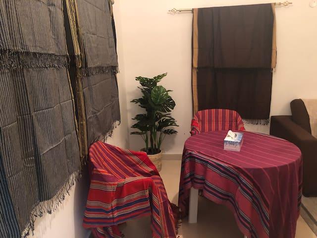 In Madinat Sultan Qaboos