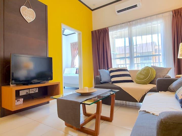 Gold Coast Morib Two-Bedroom Apartment [4 Pax]