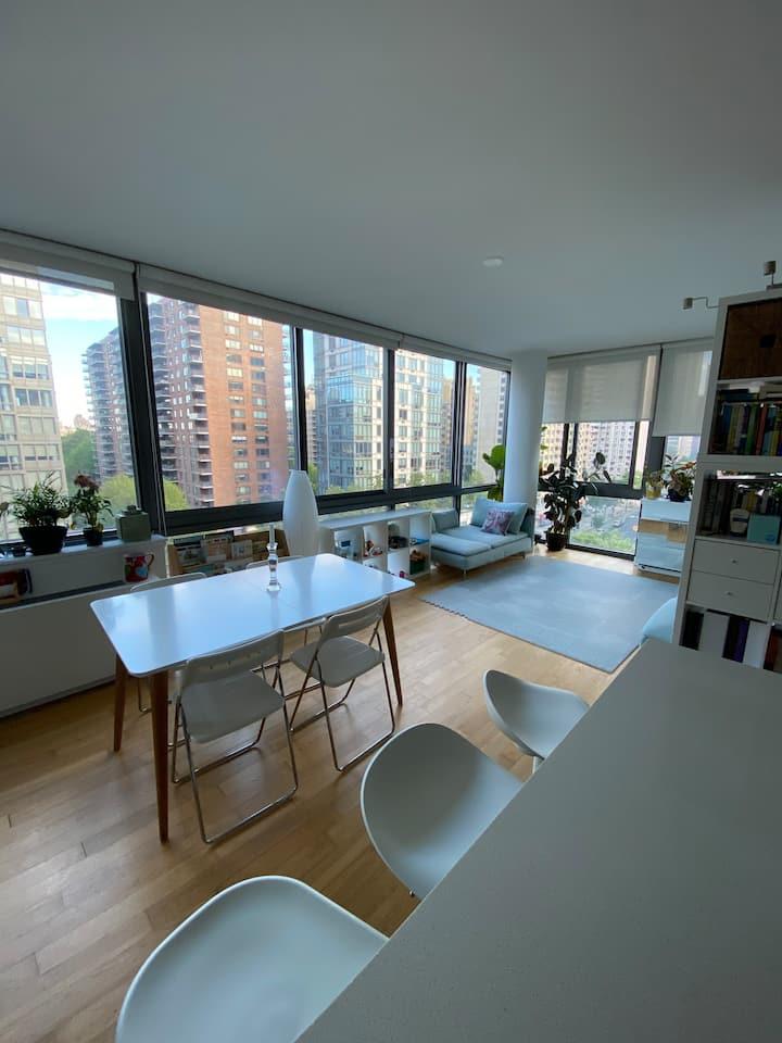 Beautiful, natural light, modern apartment on UWS