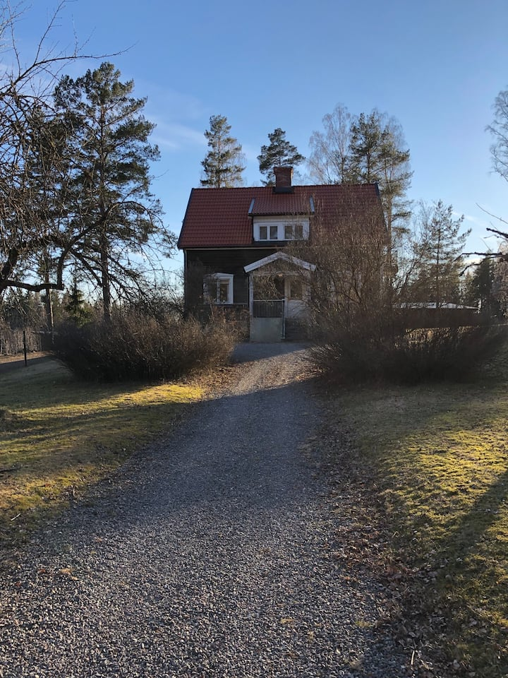 Eget hus på Islandshästgård.
