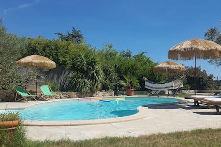 Villa Juliette, entre mer et garrigue