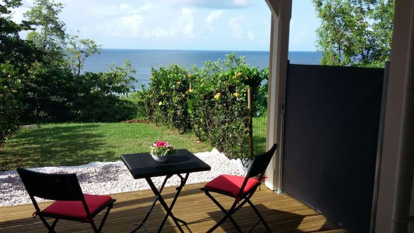 Paradis Tropical avec belle vue mer - La Trinité - Apartment