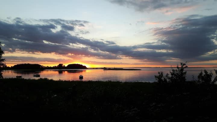 Skøn lejlighed med udsigt over Lillebælt og Torø
