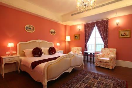 歐式公主風格的雙人房 - Zhuangwei Township