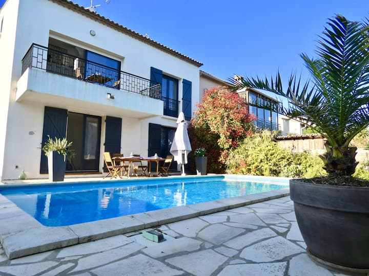 Bright house with swimming pool - Montpellier