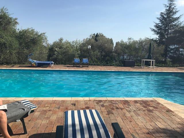 house swiming pool sea view amalfitan coast