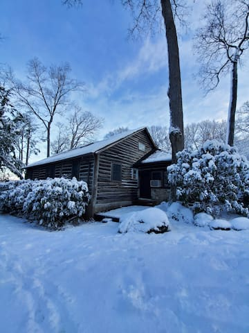 Authentic log Cabin just 25 miles outside of NYC!