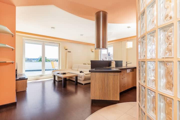 Superior Apartment with Hottub | Spacerowa 2