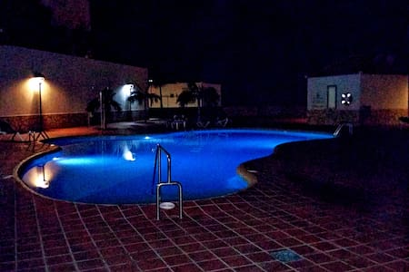 Costa Adeje Corner groundfloor Apartment with pool