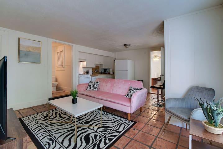 2 bedroom w/Parking - Sleeps 8 near UT & Downtown!
