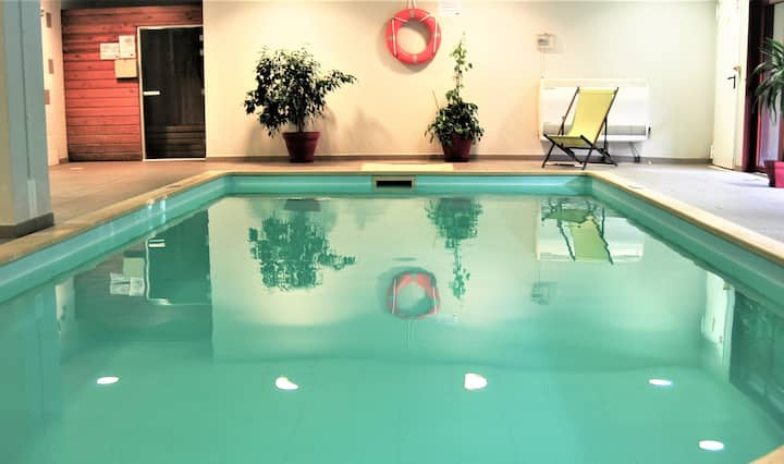 Studio 3 personnes piscine parking à Carcassonne