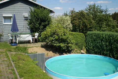 Cushy Holiday Home in Piesau with Private Swimming Pool