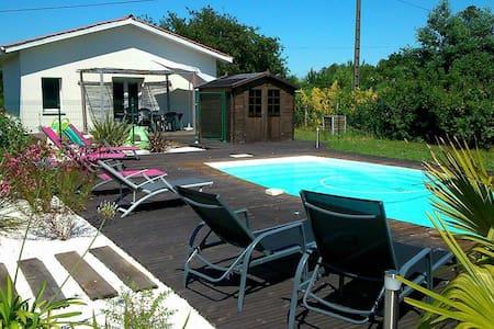 Maison avec Piscine proche Plage, Lac, Ville - Biscarrosse - Casa