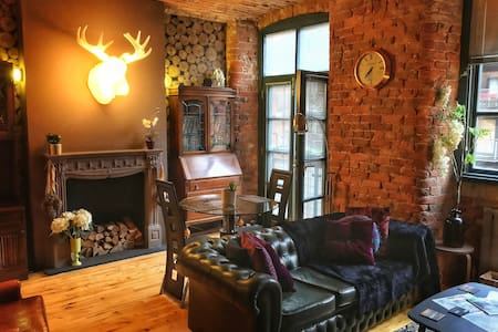 Designer loft living in historic listed mill - Manchester - Apartment