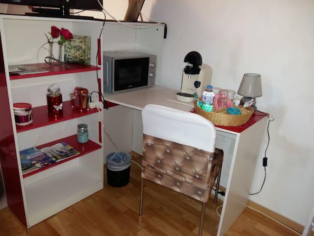 Les hermines chambre d'hôte privée  dans maison