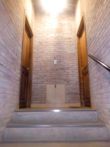 Puerta de acceso al depto.