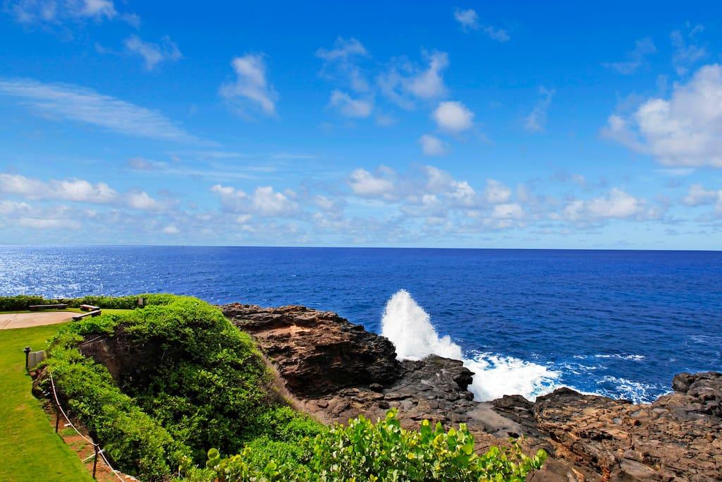 Lanai view looking East