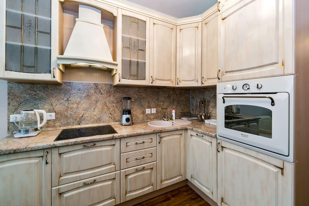 Кухня по последнему слову техники