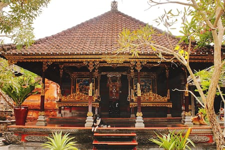 Traditional Balinese Family Compound Near TheBeach