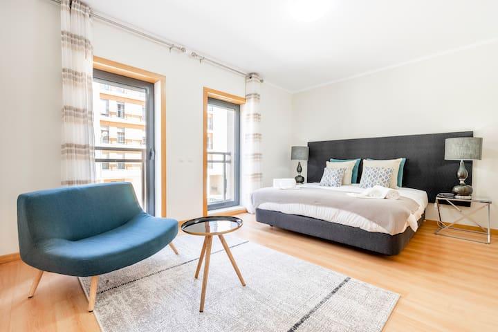★ Lux Apartment Seaview Pool Ria Formosa Algarve ★