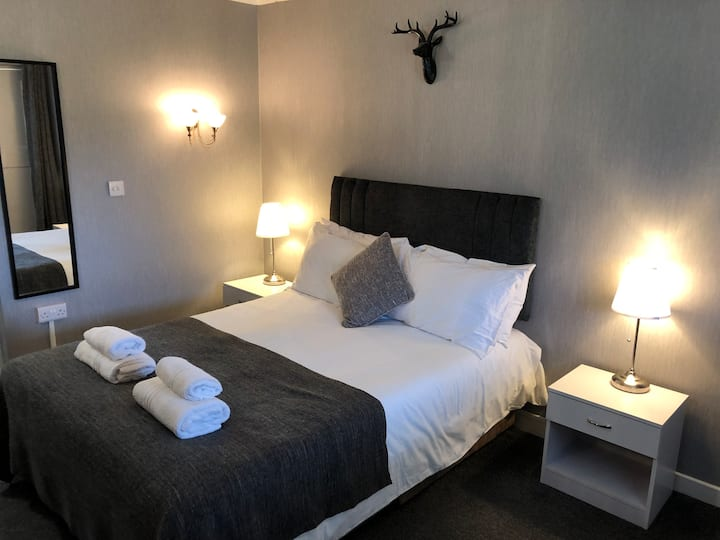 Double Room at the Stables Country Lodge. Room 6A