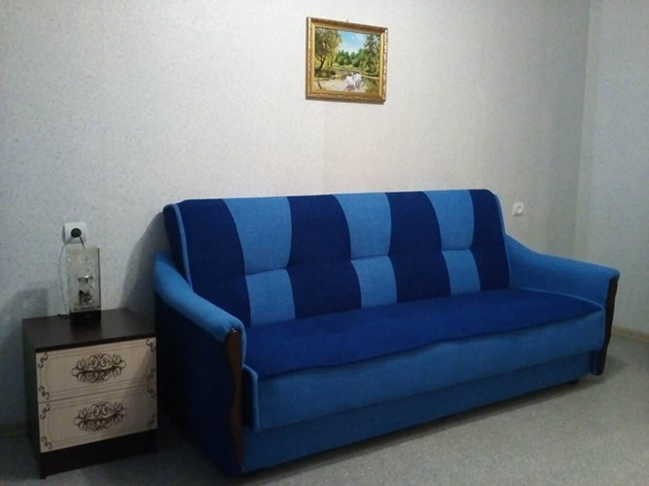 Мягкий, удобный диван-кровать на 2 человека