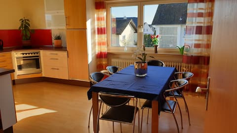 Ευρύχωρο, φωτεινό διαμέρισμα στην περιοχή Giessen