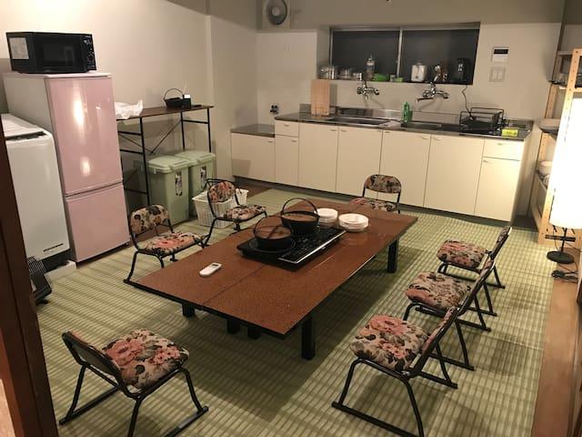 Ryokan ANEX b/w Hiroshima and Miyajima 1