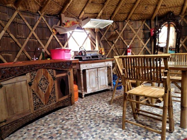 Yurta superior autosustentable - Pichilemu - Casa