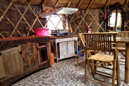 Yurta superior autosustentable - Pichilemu - Haus