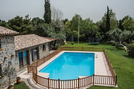 Country villa with pool & tennis - Tatoi