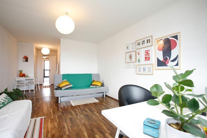 40qm mit  Hafensicht in Altona - Hamburg - Apartemen