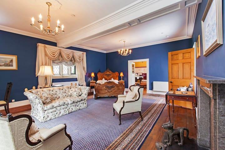 Austwick Hall - The Blue room