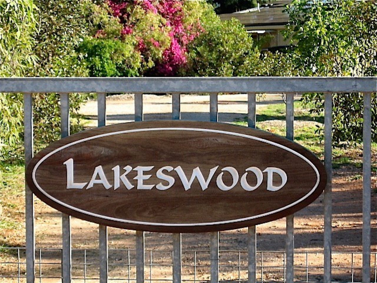 Entrance to Lakeswood and the B&B studio apartment.