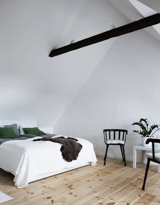 Stort härligt sovrum