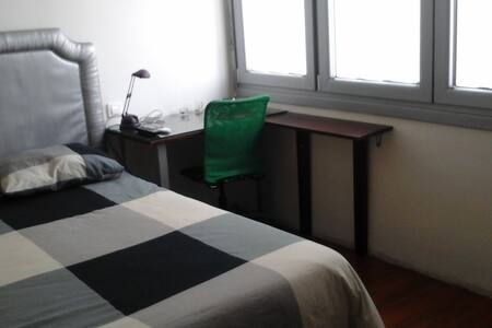 Double room in central and quiet area