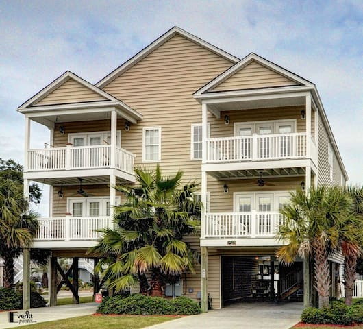 Chill Inn Garden City Beach House Private Pool Houses For Rent In Murrells Inlet South