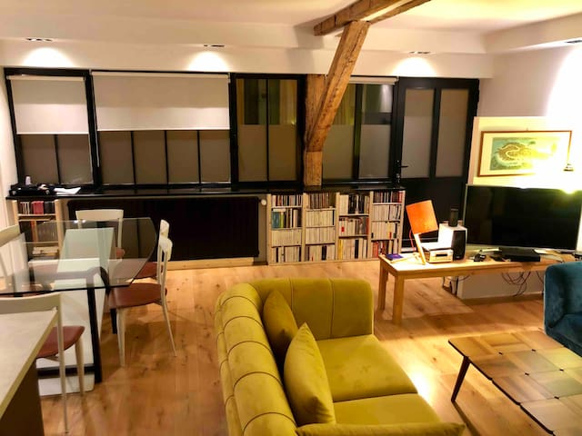 Loft parisien luxe design et confortable