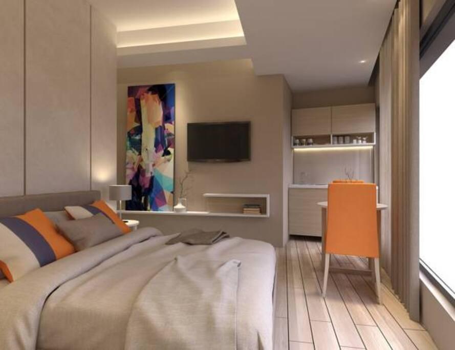 Standardna Dvokrevetna Soba s Bračnim Krevetom
