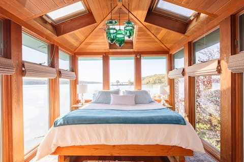 HEAVEN ON EARTH -  Hudson Riverfront Home