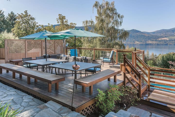 Bay View Poolside Getaway - Manson - Huis
