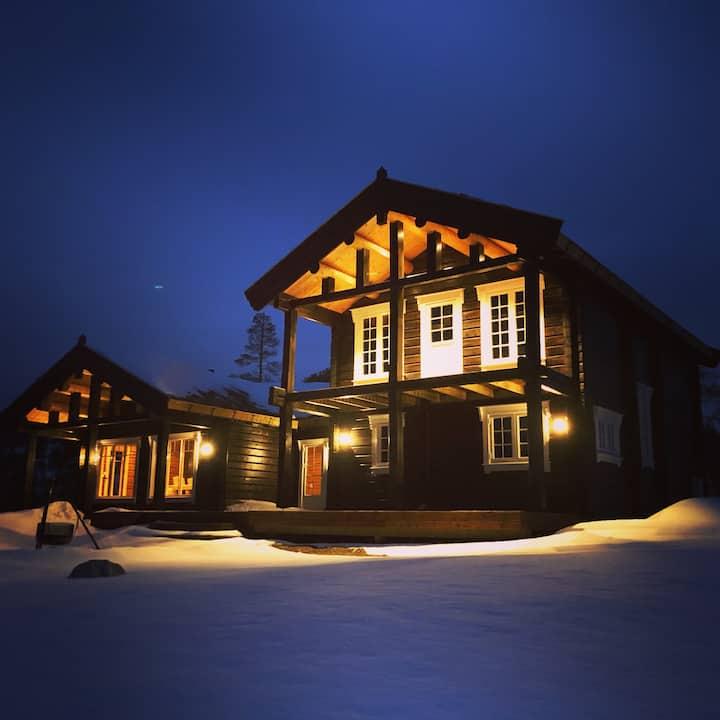Large cottage with high standard Damtjønna, Selbu