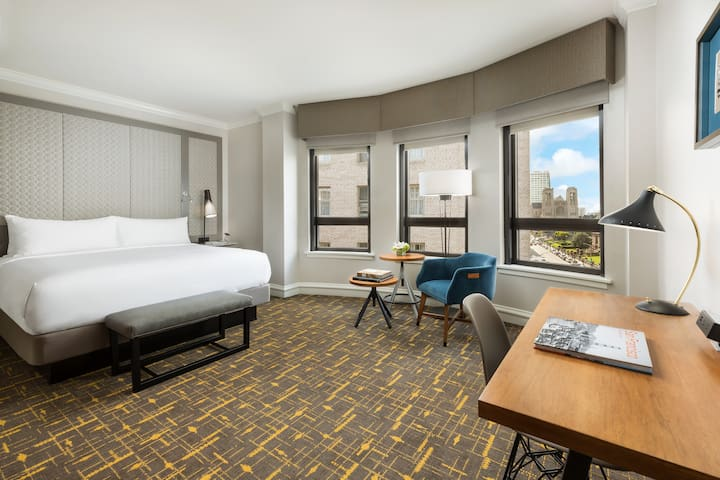 Nob Hill Modern Lux Hotel-Deluxe-King