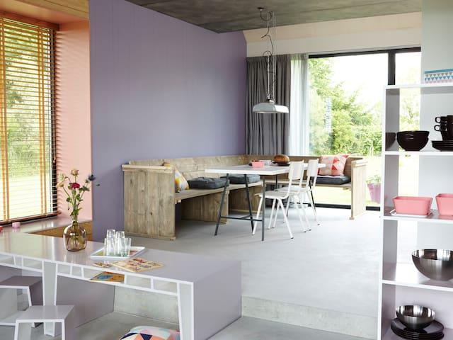 Design huis (Waad) in Friesland - Kollumerpomp - Huis