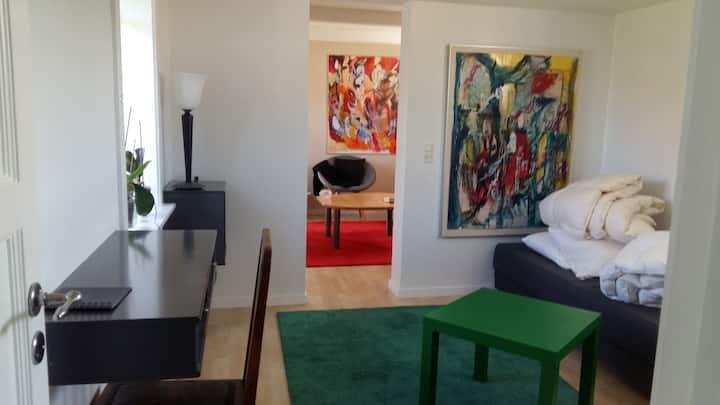 50 m2 bolig beliggende midt i Gilleleje by/strand,