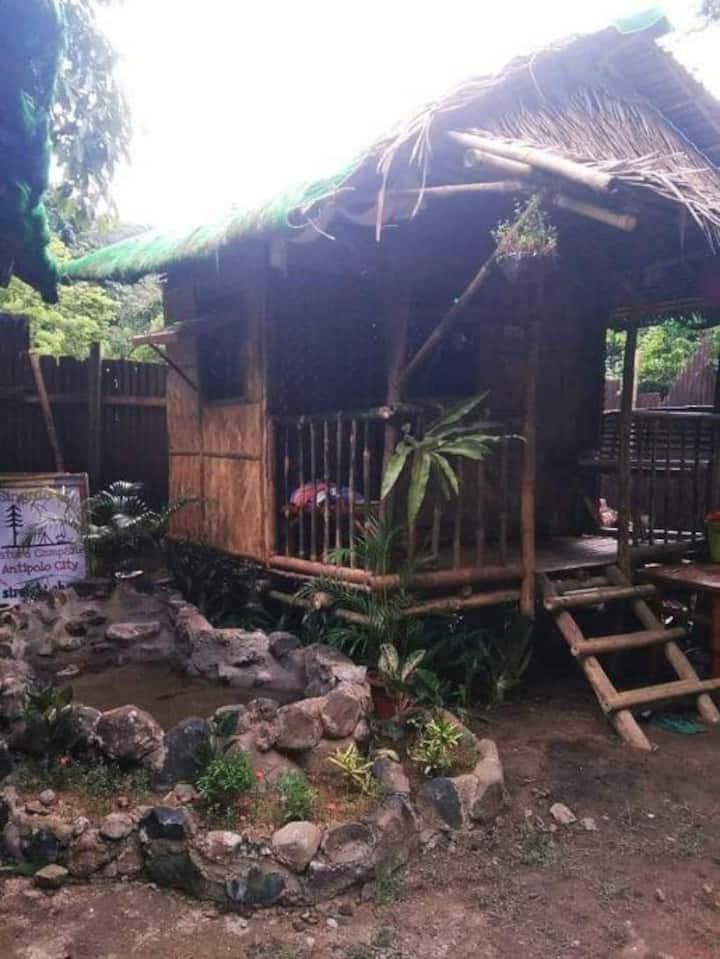 Kambal Kubo Resthouse at Sitio Singalong Antipolo