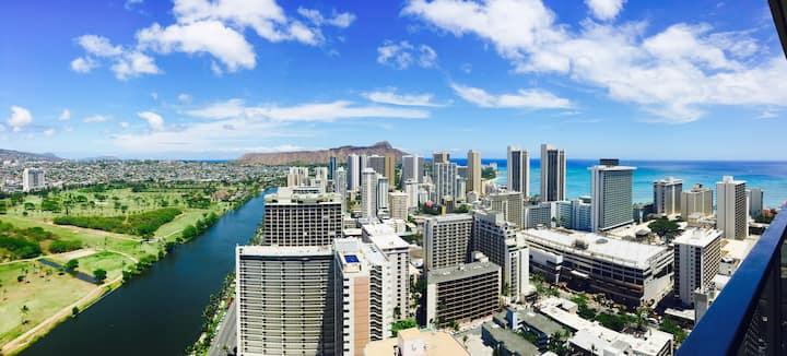 TOP OF THE WORLD:41st Floor Haven - Waikiki