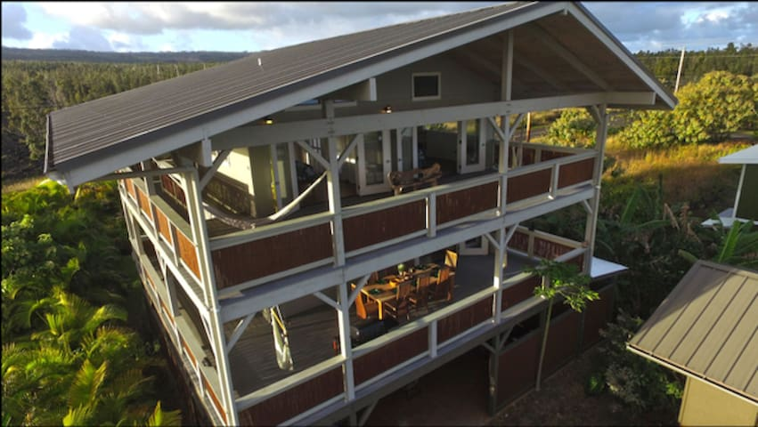 Only upper Floors at Treehouse in Paradise - Pāhoa - Treehouse
