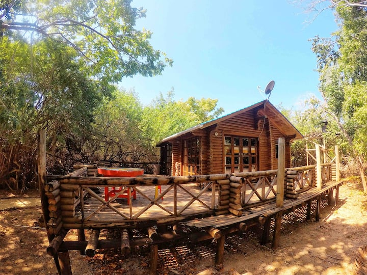 JUNGLE HUT /PRIVATE ROOM +TERRACE+PRIVATE BATHROOM