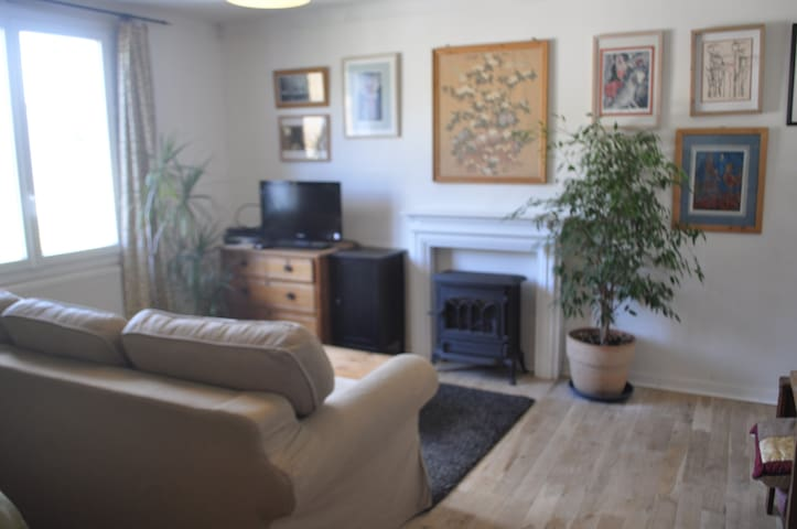 large comfortable studio and separate kitchen 30m2 - Herbignac - Apartamento